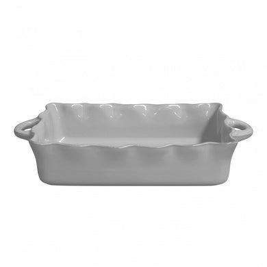 Rectangular Ruffled Baker | Large