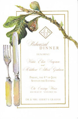 Fig & Fork Invitation