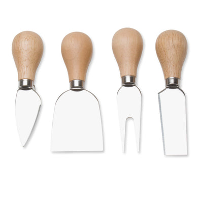 Natural Handled Cheese Utensils