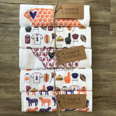 Flour Sack Hand Towel | Fall + Gameday