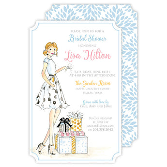 Fashionista Bride to Be Invitation
