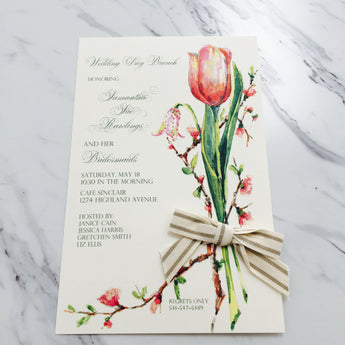 Buds & Bulbs Invitation