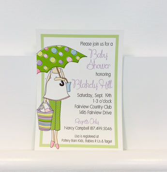 Shower Mama Multi Invitation