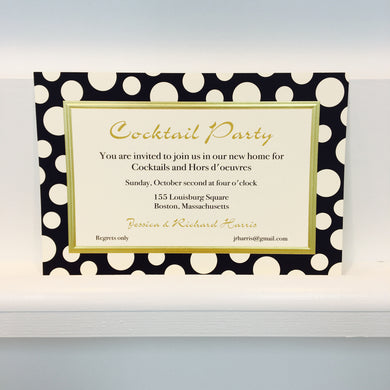 Dotti Black Invitation
