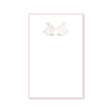 Porcelain Bunnies Invitations | Pink