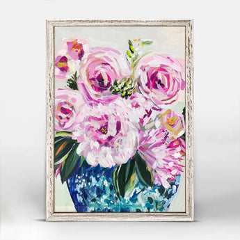 Central Floral Co. | Mini Framed Canvas