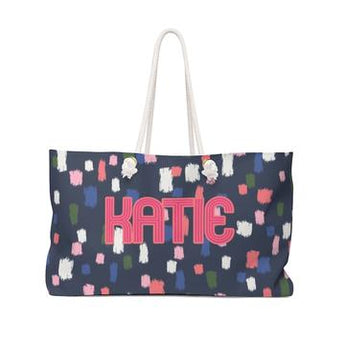 Hello Happiness + Personalized Travel Totes