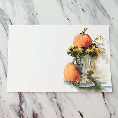 Pumpkin Pair Invitation
