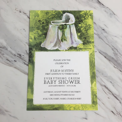 Babe in the Woods Invitation
