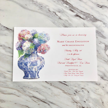 Bunch of Blooms Invitation