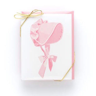 Pink Bonnet Stationery