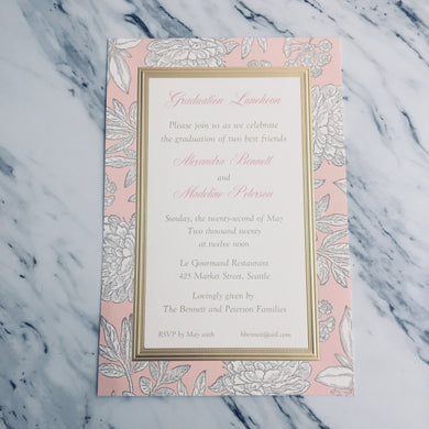Audrey Invitation
