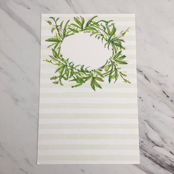 Greenery Wreath Invitation