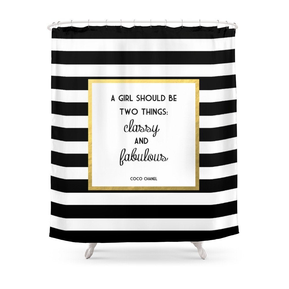 Load Image Into Gallery Viewer CoCo Classy Shower Curtain