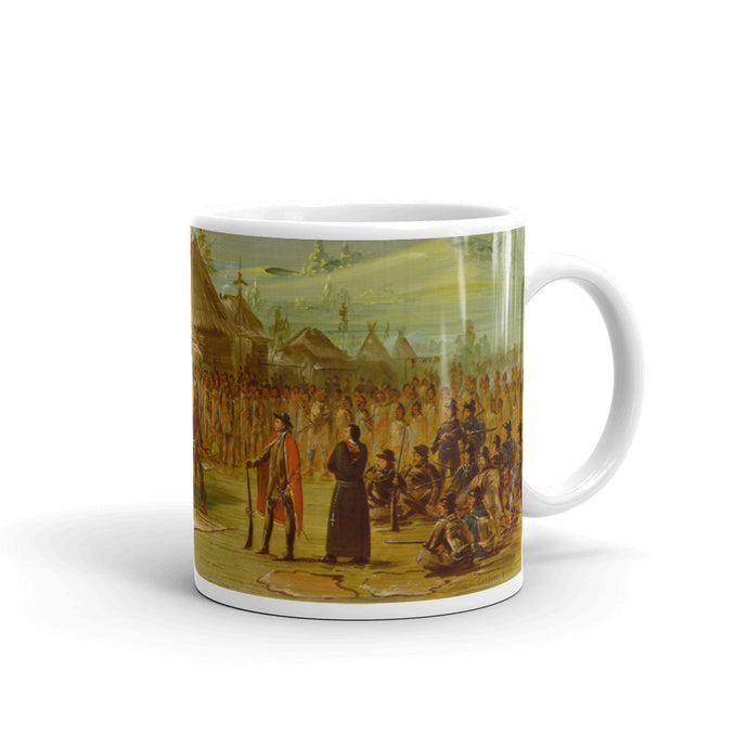 Chief of the Taensa Indians Vintage Art Print Mug - Old McLeod Trading Co Product