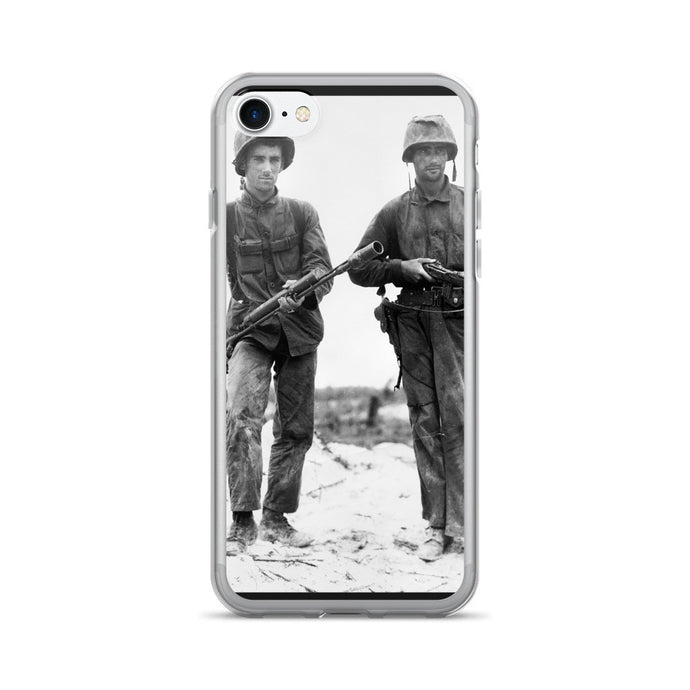 Flame Marine History Photo Printed iPhone 7/7 Plus Case - Old McLeod Trading Co Product