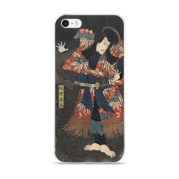 Ichikawa Danjuro VIII Vintage Japanese Print iPhone 5/6 Case - Old McLeod Trading Co Product