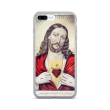 Jesus' Sacred Heart Vintage Printed iPhone 7/7 Plus Case - Old McLeod Trading Co Product