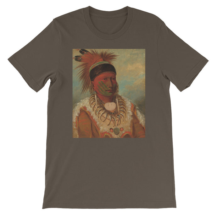 The White Cloud Vintage Art Print T-shirt - Old McLeod Trading Co Product