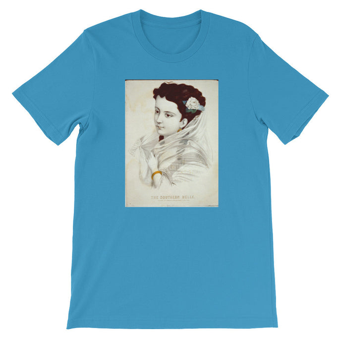 Southern Belle Historic Print T-shirt - Old McLeod Trading Co Product