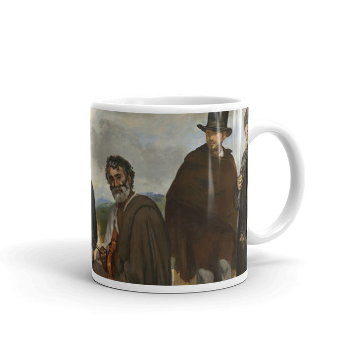 The Old Musician Vintage Art Print Mug - Old McLeod Trading Co Product