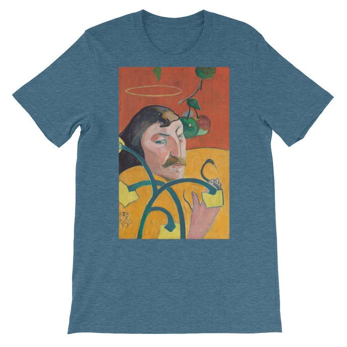 Gauguin Self-Portrait Vintage Art Print T-shirt - Old McLeod Trading Co Product
