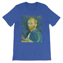 Van Gogh Self-Portait Vintage Art Print T-shirt - Old McLeod Trading Co Product