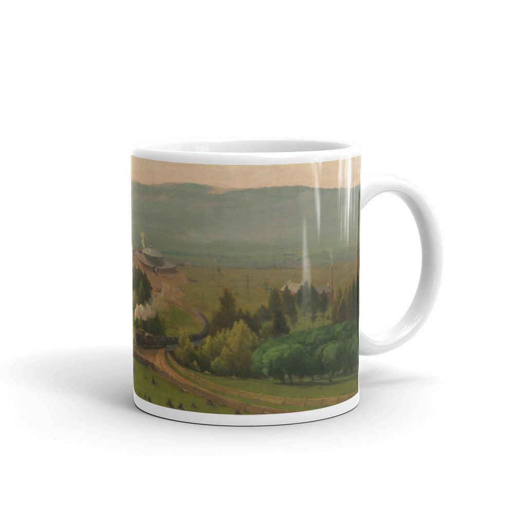 Lackawanna Valley By George Inness Vintage Art Print Mug - Old McLeod Trading Co Product