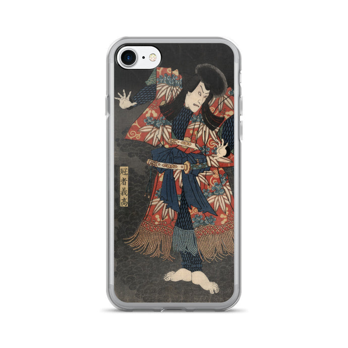 Ichikawa Danjuro VIII Vintage Japanese Print iPhone 7/7 Plus Case - Old McLeod Trading Co Product