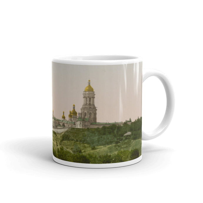 La Lavra in Kiev Russia Vintage Photochrom Printed Mug - Old McLeod Trading Co Product