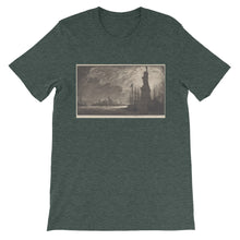 New York City Vintage Print T Shirt - Old McLeod Trading Co Product