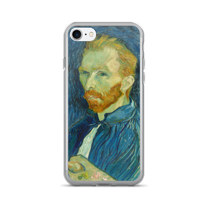 Van Gogh Self-Portrait Fine Art Printed iPhone 7/7 Plus Case - Old McLeod Trading Co Product