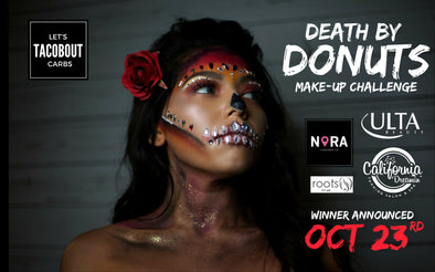 Two Weeks Left: Death by Donuts Makeup Challenge