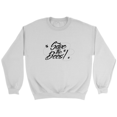 Save the Bees Long Sleeve, Crew, and Hoodie