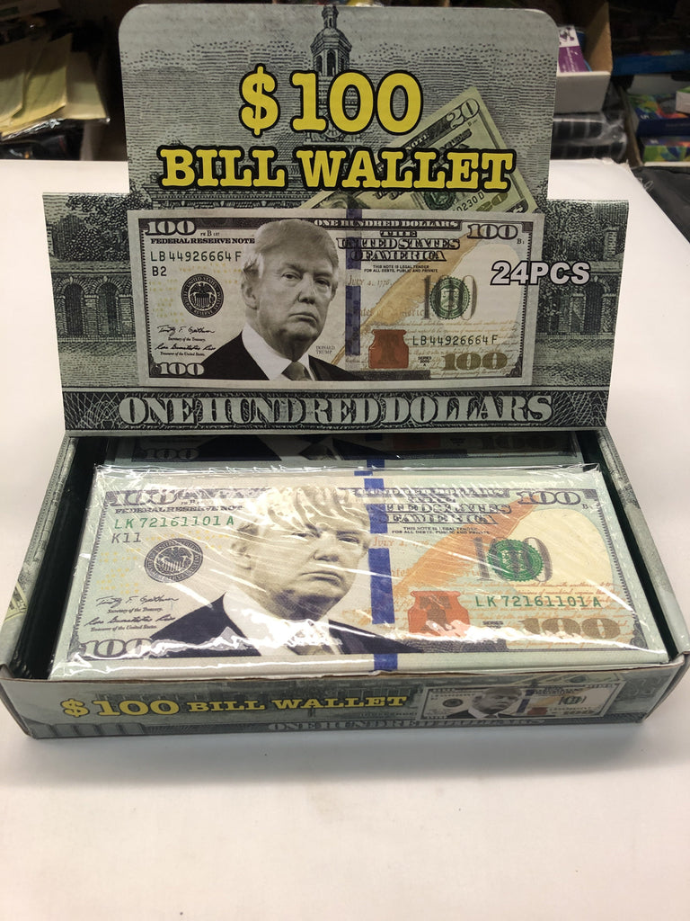 $100 Bill Wallet - K&S Wholesaler