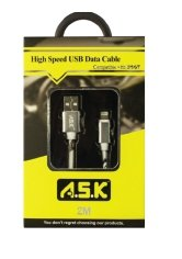 A.S.K 6 ft Hi-Speed iPhone USB Data Cable - K&S Wholesaler
