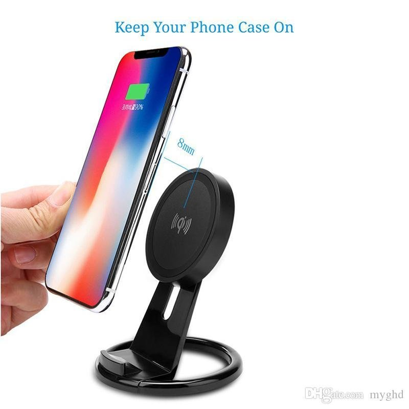 A.S.K Universal Wireless Charger With Built In Stand - K&S Wholesaler