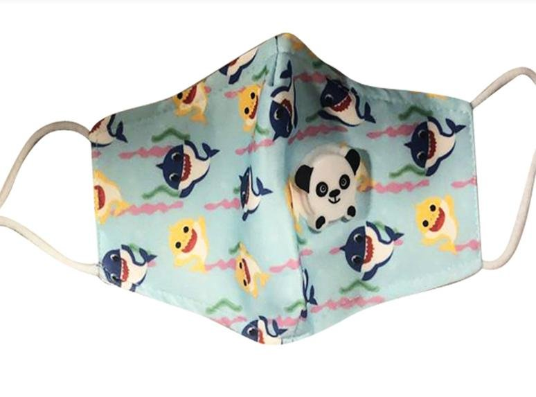 CHILDREN PANDA MASKS WITH FILTER - K&S Wholesaler