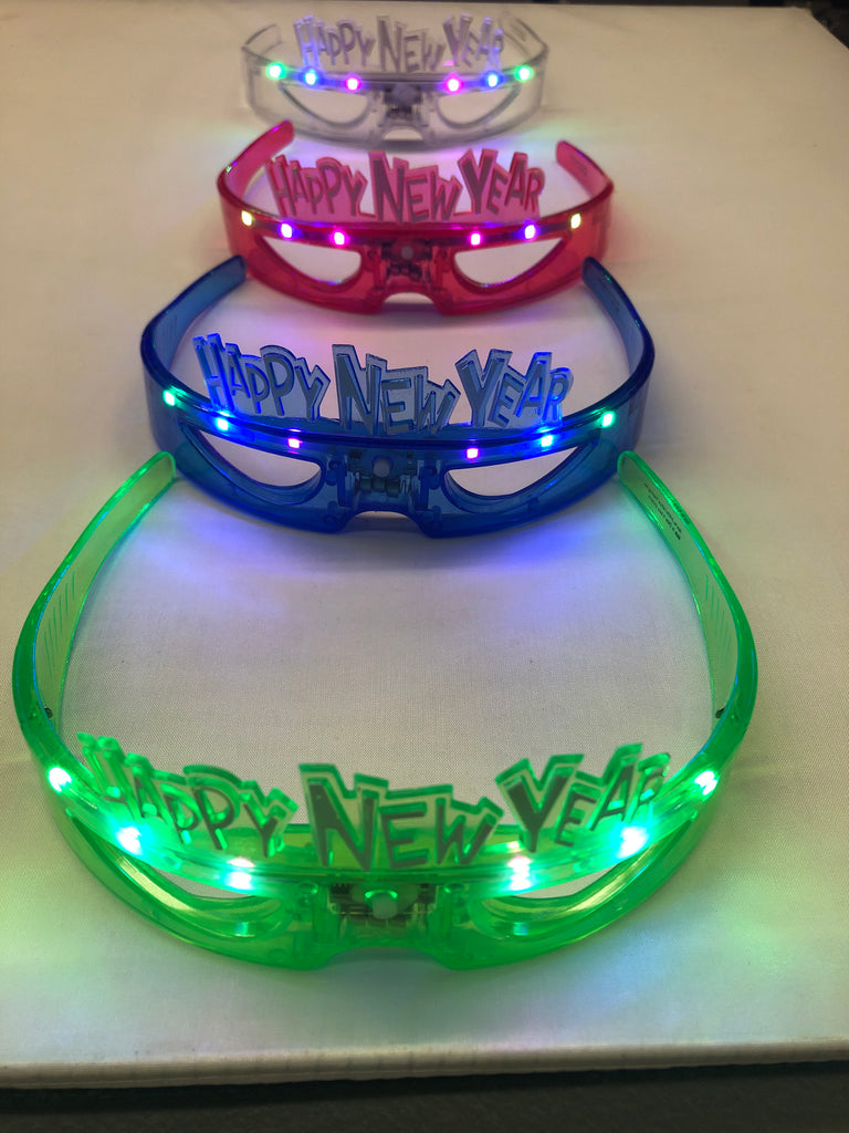 Light Up Happy New Year Glasses (Style 4)