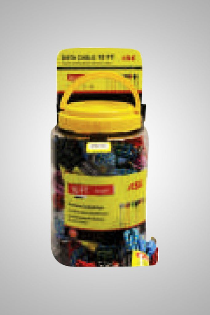 MICRO 10FT CABLE 30 COUNT COUNTER-TOP JAR - K&S Wholesaler