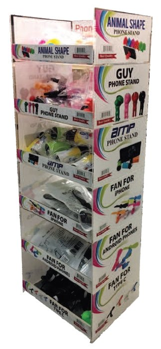 Phone Gadget/Accessories Counter-Top Display - K&S Wholesaler