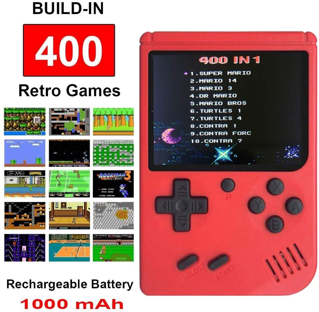 Retro Game-Box with 400 Built-In Games - K&S Wholesaler