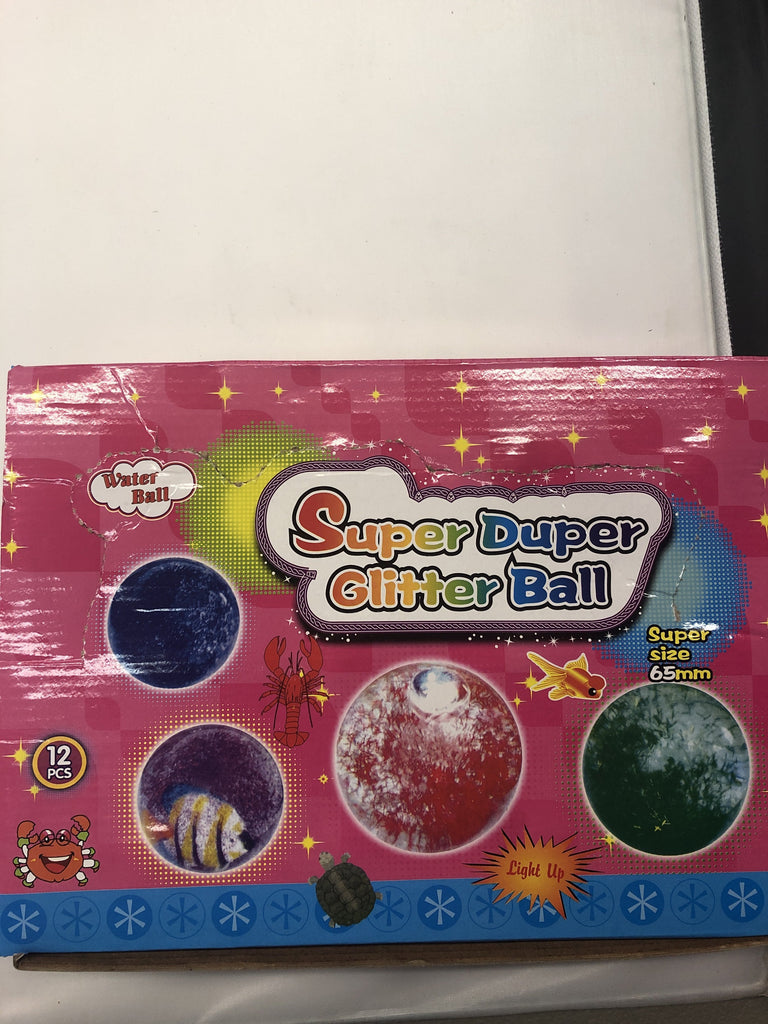 Super Duper Glitter Ball - K&S Wholesaler