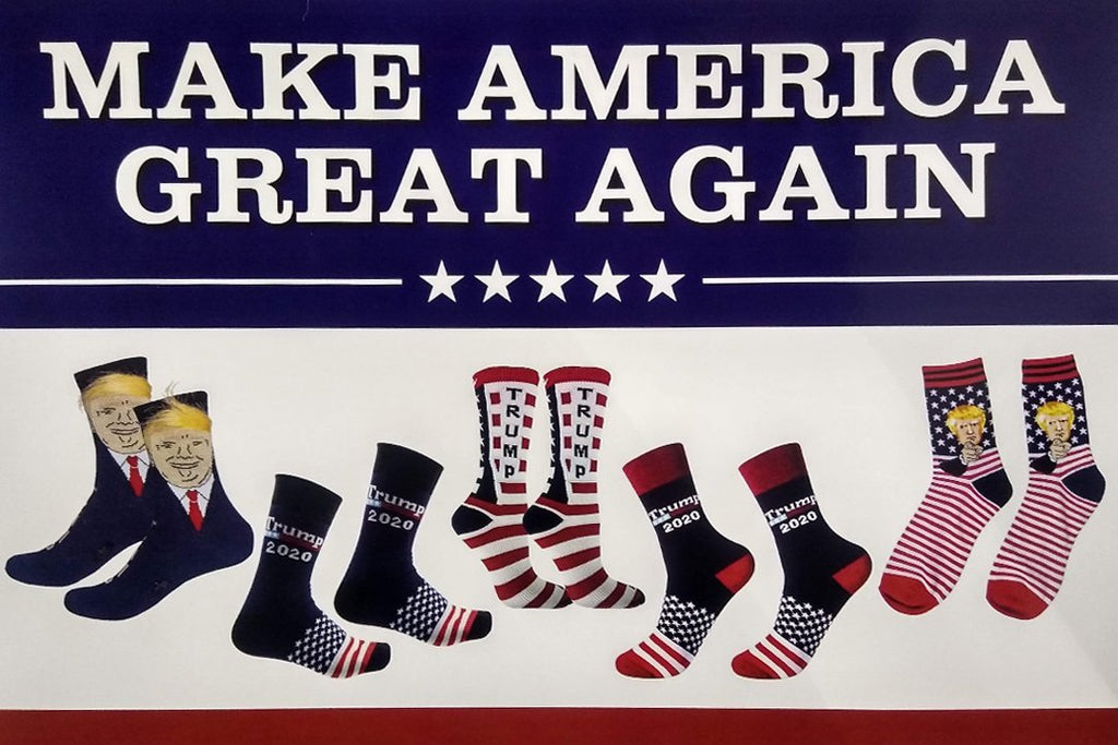 TRUMP SOCKS 200 PCS FLOOR DISPLAY - K&S Wholesaler