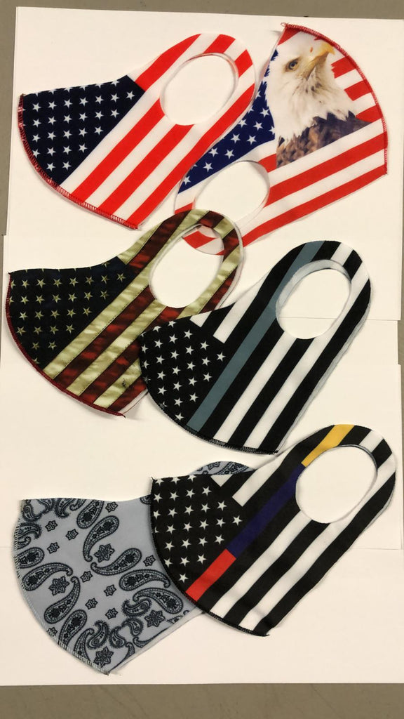 Washable Face Masks ( TRUMP FACE MASKS, USA FLAG FACE MASKS, & DESIGNER FACE MASKS ) - K&S Wholesaler