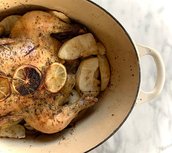 Roasted Chicken French Style