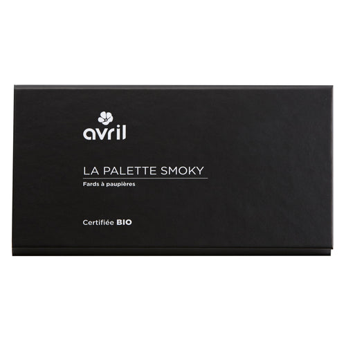 Palette eyeshadow - Smoky - certified organic