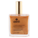 Multi-purpose shimmering dry oil - 100ml - certified organic