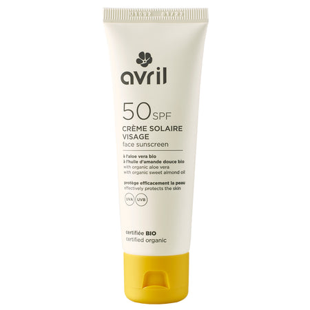 Face suncreen SPF 30 - certified organic
