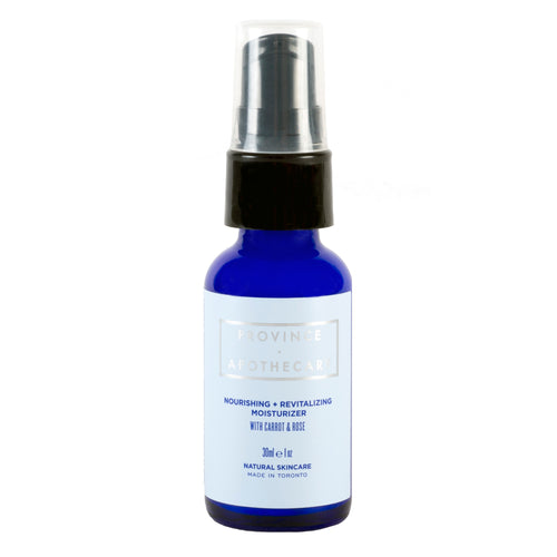 Nourishing + Revitalizing Moisturizer with Carrot & Rose Hip - 30ml